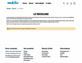 letricolore.fr screenshot