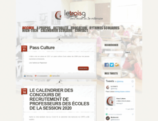 letroisg.fr screenshot