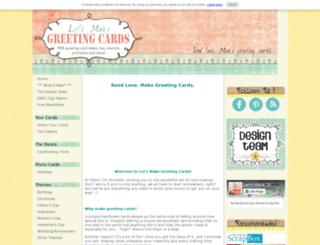 lets-make-greeting-cards.com screenshot