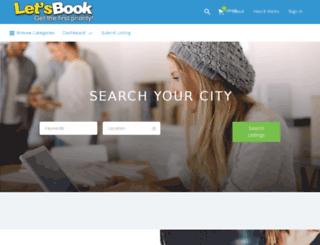 letsbook.in screenshot