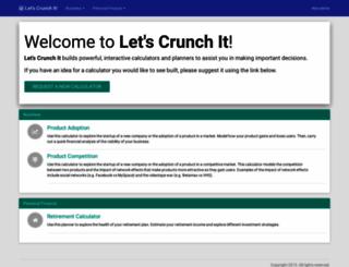 letscrunchit.com screenshot