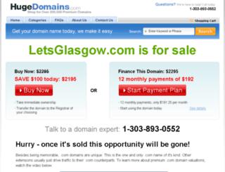 letsglasgow.com screenshot