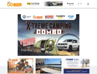 letsgocaravanandcamping.com.au screenshot