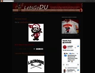 letsgodu.blogspot.com screenshot