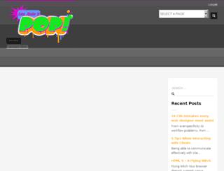 letsmakeitpop.co.za screenshot