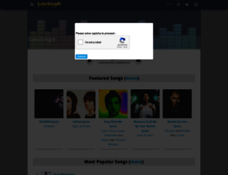 letssingit.com screenshot