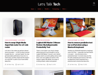letstalk-tech.com screenshot