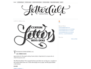 lettercult.com screenshot