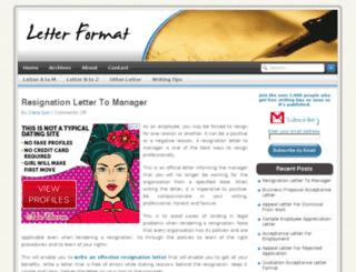 letterformat.net screenshot
