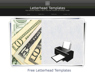 letterhead-templates.com screenshot