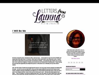 lettersfromlaunna.blogspot.ca screenshot