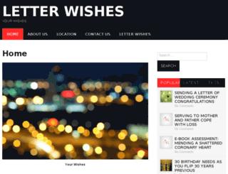 letterwishes.com screenshot