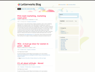 letterworks.wordpress.com screenshot