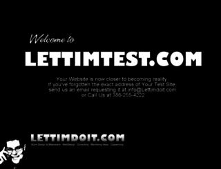 lettimtest.com screenshot