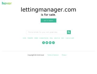 lettingmanager.com screenshot