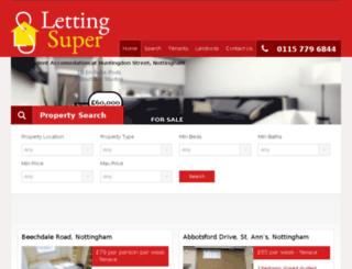 lettingsuper.co.uk screenshot