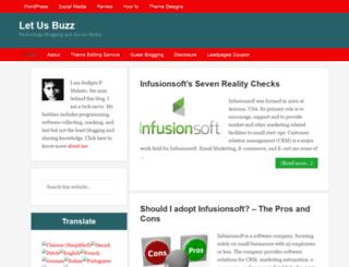 letusbuzz.com screenshot