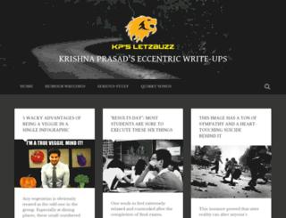 letzbuzz.wordpress.com screenshot