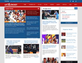 letzcricket.com screenshot