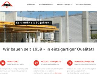 leubau.homepage-internet-web.eu screenshot