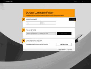 leuchtensuche.de screenshot