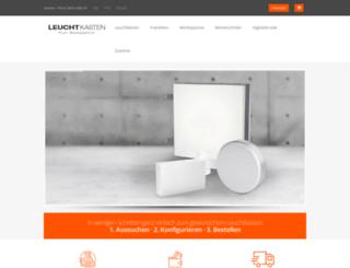 leuchtkasten.net screenshot