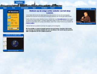leunen.nl screenshot