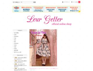 leurgetter-shop.com screenshot