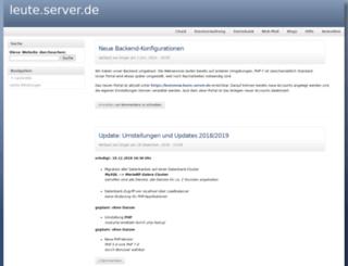 leute.server.de screenshot