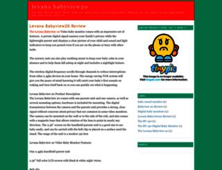 levanababyview20.blogspot.com screenshot
