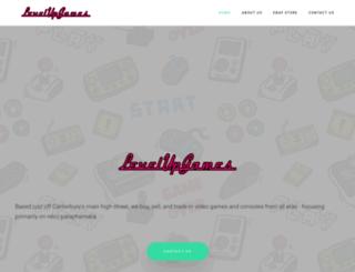 levelup-games.co.uk screenshot