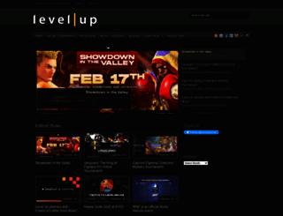 levelup-series.com screenshot