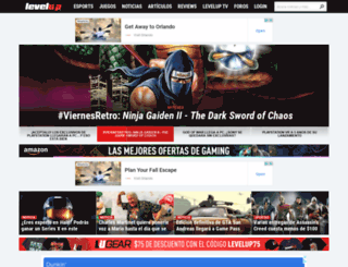 levelup.com.mx screenshot