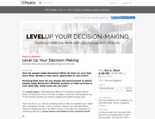 levelup.peatix.com screenshot
