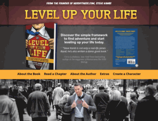 levelupyourlife.com screenshot