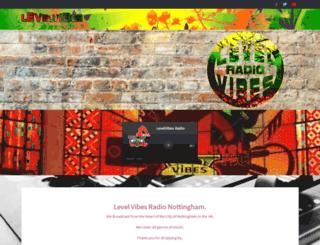 levelvibesradio.com screenshot