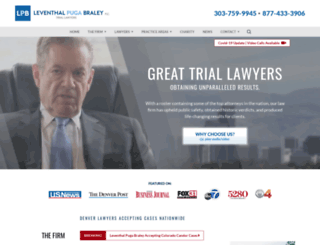 leventhal-law.com screenshot