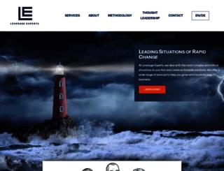 leverage-experts.com screenshot
