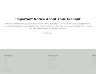 leveragebox.batchbook.com screenshot