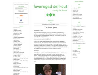 leveragedsellout.com screenshot