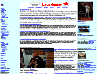 leverkusen.com screenshot