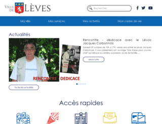 leves.fr screenshot