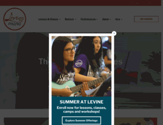 levinemusic.org screenshot