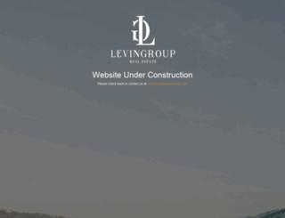 levingroupestates.com screenshot