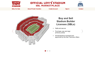 levisstadium.strmarketplace.com screenshot