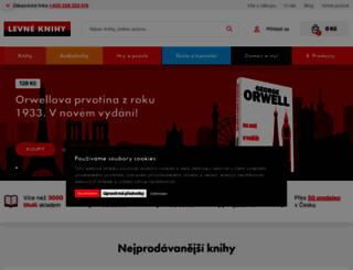 levneknihy.cz screenshot