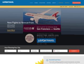 levontravel.com screenshot