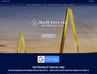levylawsc.com screenshot