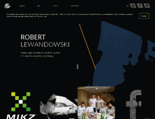 lewandowskiofficial.com screenshot