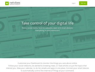 leweb13.netvibesbusiness.com screenshot